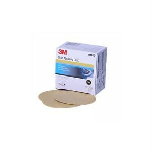 3m 1010 3 Inch Gold Film Disc P800a Box Of 50 Sandpaper Abrasive Featheredging