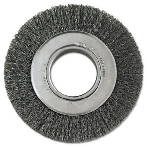 Anderson Brush 6 In Diameter 2 In Arbor Crimped wire Wheel 1134 New