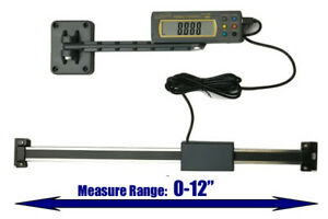 Igaging Absolute Dro Digital Readout 12 300mm Read Out Stainless Steel Beam