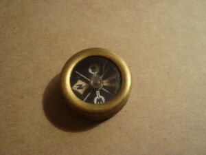 Vintage Marble S Gladstone Mich Pocket Compass