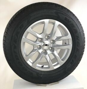 New Takeoff 2019 Chevy Silverado Tahoe 18 Wheels Rims Goodyear Tires Lug Nuts
