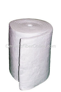 Taofibre Ceramic Fiber Blanket 8lb cu ft 1 X 24 X 300 50 Sq ft roll