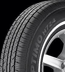 4 New 185 75r 14 Hankook Optimo H724 White Wall 75r R14 Tires