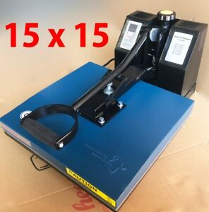 15 X 15 Digital Clamshell Heat Press Transfer T shirt Sublimation Press Machine
