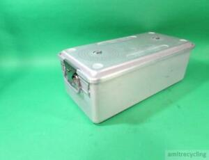 Case Medical Sterilization Container 22 X 11 X 7 3 4