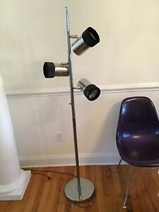 Vintage Mid Century Eames Three Tier Floor Lamp