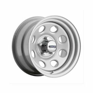 Cragar Soft 8 Silver Wheel 15 X7 5x4 5 Bc Set Of 4