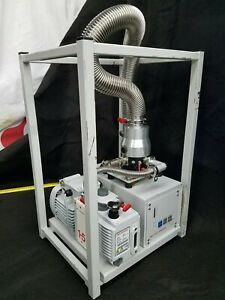 Free Ship Edwards Exp Turbo Molecular Vacuum Pump System Ext70 E2m1 5 Exc120