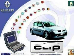 Release Can Clip For Renault V183 Diagnostic Software Multilanguages V 12 2018