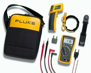 Fluke 116 62 Max 116 Hvac Multimeter And 62 Max Infrared Thermometer