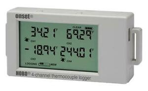 Hobo By Onset Ux120 014m Thermocouple Data Logger