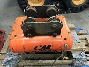 Cm Meteor 1 5 Ton Electric Cable Hoist W trolley