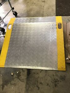 Aluminum Loading Dock Ramp