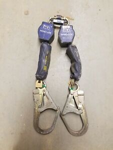 Dbi Sala Nano lok Dual Self Retracting Lifeline Retractable Rebar Hooks Lanyard
