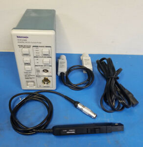 Tektronix Current Probe System Tcpa300 W Tcp305a Probe Tekprobe I f Cable