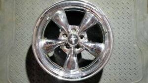 Wheel 17x8 5 Spoke Gt With Exposed Lug Nuts Fits 94 04 Mustang 72484