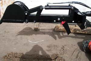 Backhoe Attachment For Mini Skid Steer Fits Toro Dingo And Ditch Witch