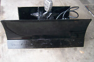 New 48 4 Way Dozer Blade Plow For Mini Skid Steer Fits Mt Bobcat Mount
