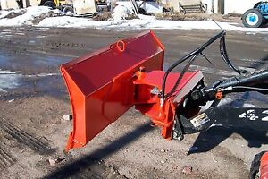 New 48 4 Way Dozer Blade Plow For Mini Skid Steer Fits Dingo Ditch Witch