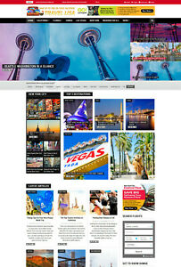 Usa Travel Vacation Hotels Flights Bookings Affiliate Website