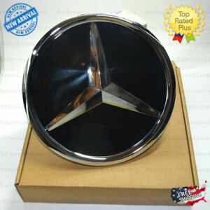 Mercedes Front Grill Star Emblem Crystal Glass Style Amg Modified Fit 1648880411