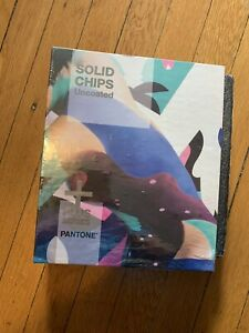 Pantone Plus Series Uncoated Solid Chip Book