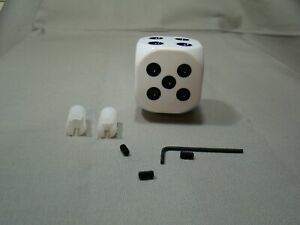 White Dice Shifter Handle Shifter Lever Dice Shifter Knob Custom Shifter Knob