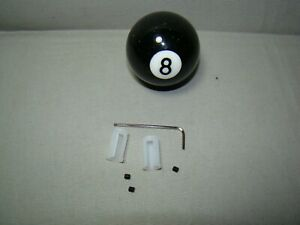 Black Glitter Shifter Knob 8 Ball Shifter Handle 8 Ball Lever Custom Shifter