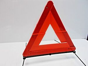 Oem 98 04 Audi A6 Quattro Emergency Road Sign Reflective Triangle Yield Caution