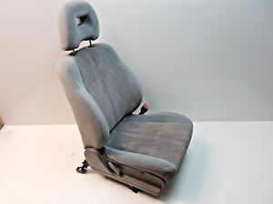 Oem 99 02 Subaru Forester Suv Passenger S Side Front Seat Blue Gray Cloth Manual