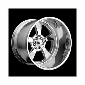 Center Line Wheels Legend Series Retro Polished Wheel 17 x8 5x4 5 Bc