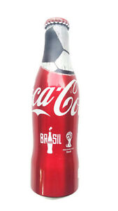Rare Coca-Cola Alu Aluminium full bottle world cup brazil 2014 Form Thailand