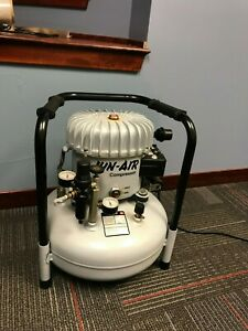 Jun air Model 6 6 15 15 Liter 4 Gallon Ultra Quiet Compressor Chiropractic Table