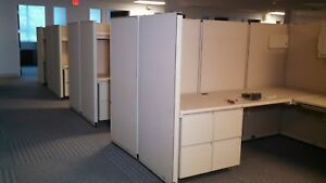 8 Steelcase Cubicles Smaller Or Larger Quantities Available