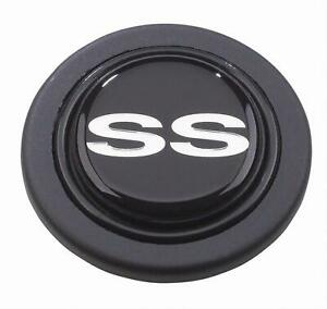 Grant Products 5649 Horn Button Plastic Black Ss Logo For Signature Series Ea