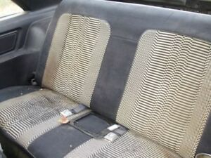 1979 Mustang Pace Car Rear Seat Back1982 Gt Cobra Very Rare