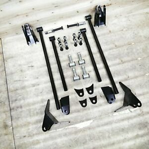 Triangulated Rear Suspension Four 4 Link Kit For 67 69 Camaro 68 74 Nova Ls Ss