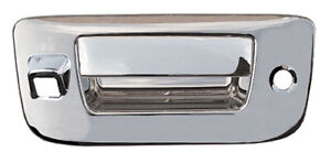 Chrome Tail Gate Handle Covers For A 07 10 Silverado Sierra W Keyhole