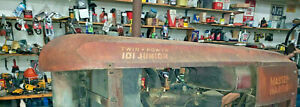 Massey Harris 101jr Twin Power Tractor Hood Mh 101 Sheet Metal Part 101 Jr