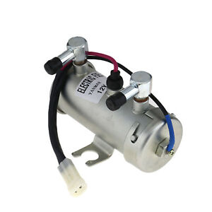 Electric Fuel Pump 12v Facet Style For Car Van Diesel Petrol Engine