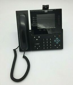 Cisco Cp 9951 5 Color Video Voip Ip Phone W Handset Camera And Stand