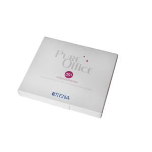 Itena Pure Office Tooth Whitening Kit 35 Hydrogen Para oxide Minty Taste