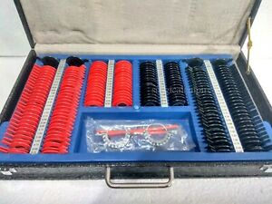 Trial Lens Set Case With Frame Optical Plastic Rim Optometry 168pcs New Kit