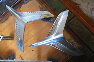 1960 Chevy Belair Side Birds Moldings