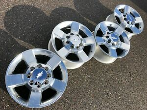 20 Chevrolet Silverado 2500hd Sierra Chevy Oem Factory Stock Wheels Rims 8x180