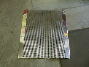 1930 35 Gm Ford Mopar Other New Grille Screen Polished Stainless Steel To Cut