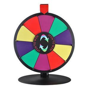 Winspin 15 Color Dry Erase Prize Wheel Fortune Spin Game