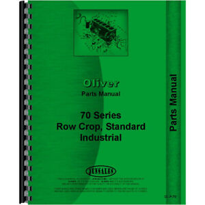 New Oliver 70 Tractor Parts Manual
