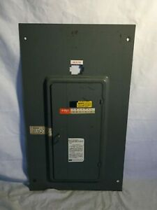 Fpe Federal Pacific Electric Breaker Panel Door Cover 150 Amp M112 24 150g