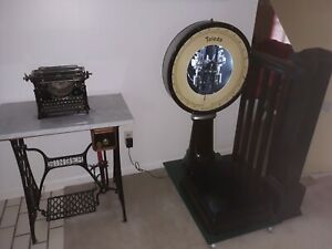 Vintage Toledo Scale Fantastic Condition Lights Restored Beautiful Working